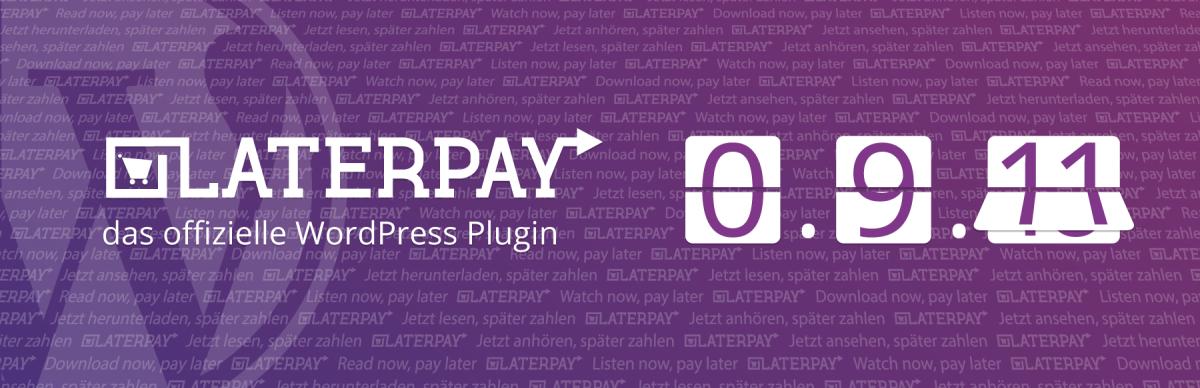 LaterPay WordPress Plugin 0.9.11